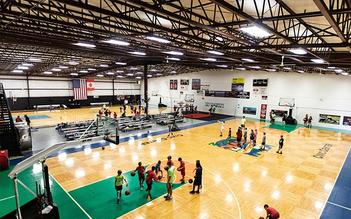 Youth basketball leagues Michigan